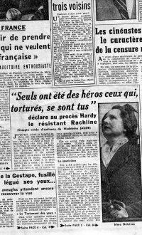 Scan original de Presse - Affaire Hardy  - Libération